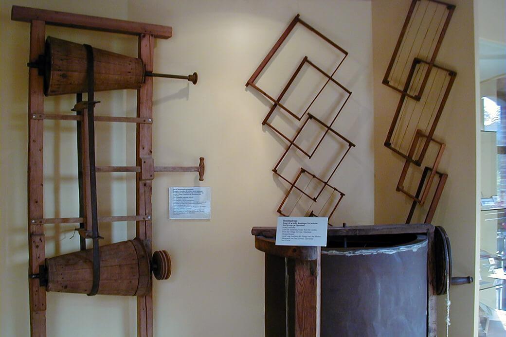 Besøg på Gl. Estrup i 2004. Foto: © Maria Gram