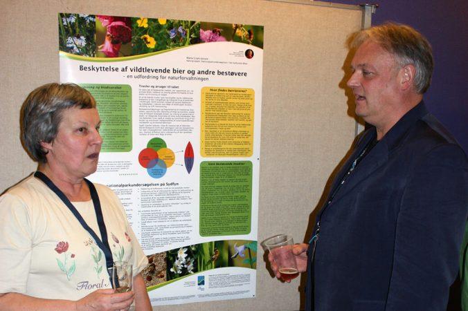 Postersessionen ved Biodiversitetssymposiet. Foto: Peter Friis Møller